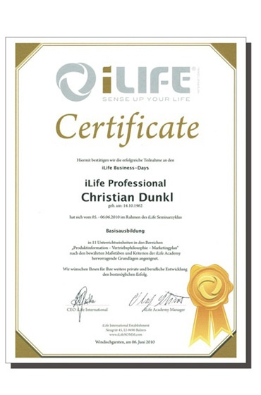 iLIFE Professional-